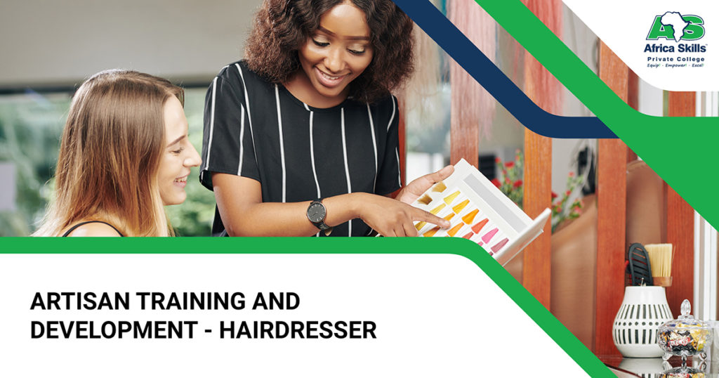 ARTISAN TRAINING AND DEVELOPMENT - Hairdressing